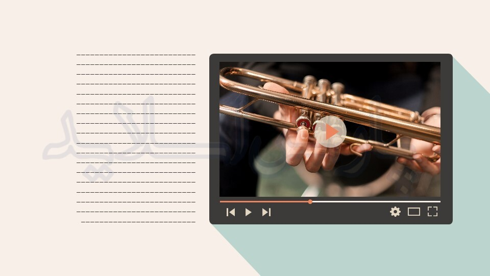 قالب-پاورپوینت-آموزش-موسیقی