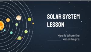 تم پاورپوینت درس منظومه شمسی (2)